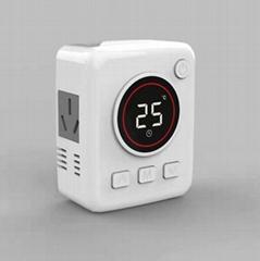 墙暖插头温控器