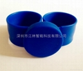 江林卡厂供应可调拍拍硅胶腕带 RFID手环 3