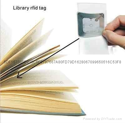 RFID圖書管理標籤 2