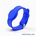 《廠家直銷》RFID胿膠手腕帶