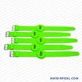 《厂家直销》RFID胿胶手腕带 铁扣腕带  5