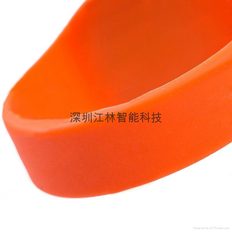 批发 硅胶腕带 防水耐用耐高温 IC/ID芯片 会员管理腕带卡 4