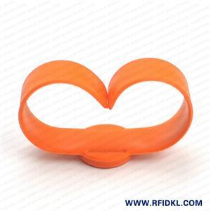 江林卡厂供应可调拍拍硅胶腕带 RFID手环 4