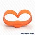 江林卡廠供應可調拍拍硅膠腕帶 RFID手環 4