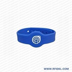 I CODE 2 硅胶手腕带 手表扣腕带 凸扣腕带健身房卡