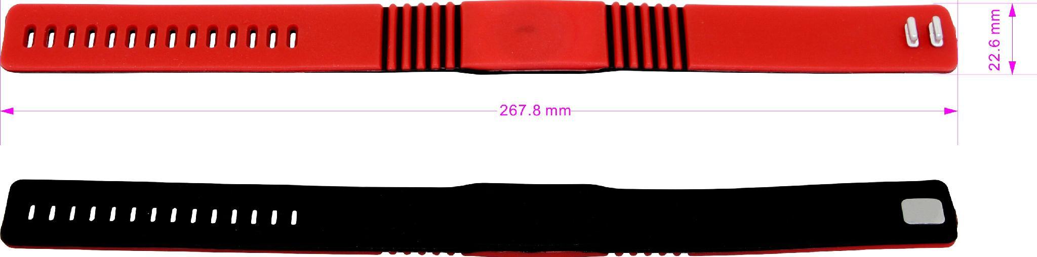I CODE 2 硅胶手腕带 手表扣腕带 凸扣腕带健身房卡 4