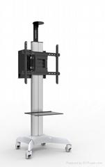 长臂猿视讯会议系统移动推车YS-ST37