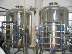 砂炭機械過濾淨水設備