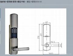 桂林密码锁锁