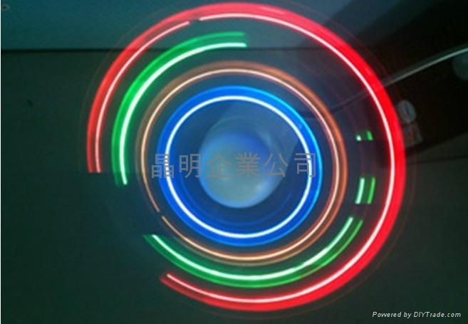 USB发光风扇 3