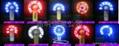 USB发光风扇 5