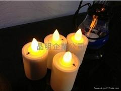 LED无烟蜡烛