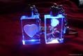 LED水晶鑰匙扣 3