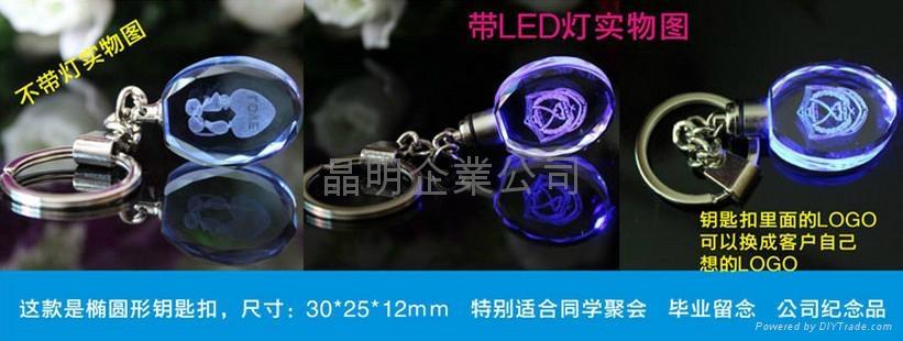 LED水晶鑰匙扣 4