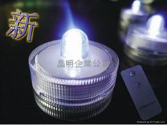 LED防水搖控蠟燭