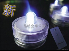 LED防水摇控蜡烛