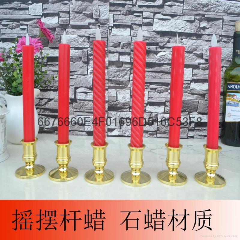 LED喷泉蜡烛 4