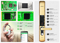 指纹锁-ST单芯片整锁方案