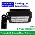 120W LED Parking Area Light