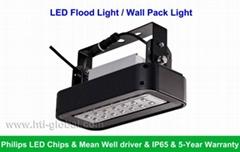 40W LED Wall Pack Light