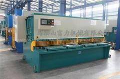 QC12Y series Hydraulic Shearing machine