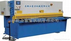 QC12K series Hydraulic CNC Shearing machine