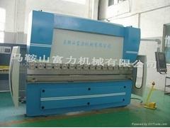 WC67K series hydraulic CNC press brake