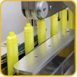 洗发水瓶双面贴标贴膜机 2