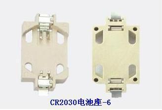 CR2032锂锰钮扣电池座-SMT 1