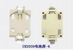 CR2032锂锰钮扣电池座-SMT