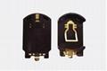 CR2032鋰錳鈕扣電池座-8-SMT(黃金座) 1