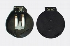 CR2450锂锰钮扣电池座-DIP