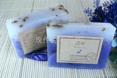 玫伊蘭品牌薰衣草香氛舒緩緊緻手工精油皂