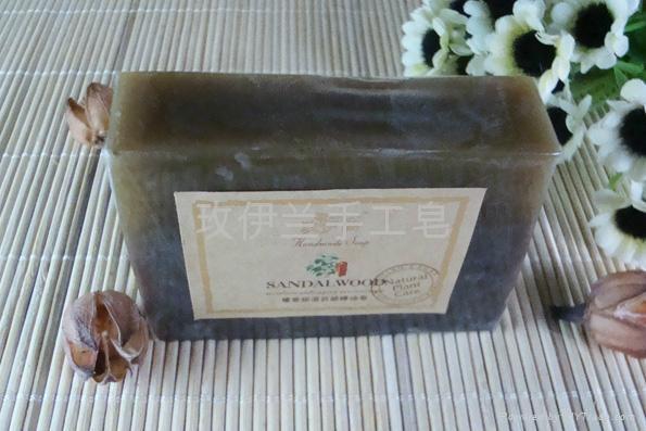 玫伊蘭品牌檀香保濕抗老化手工精油皂 1