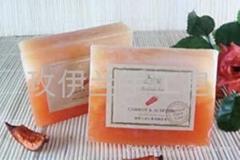 玫伊兰品牌手工精油皂胡萝卜杏仁营养嫩肤皂