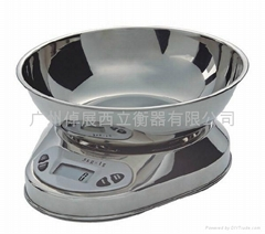 Factory direct sales of stainless steel tray electronic kitchen scale