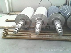Large annealing furnace bottom roll