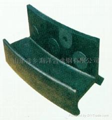 The kiln mouth guard board