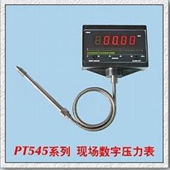 Melt pressure gauges