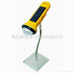 太陽能led臺燈