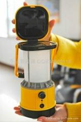 led太阳能手提灯