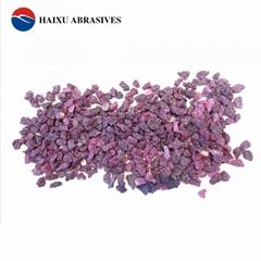 粉色氧化鋁段砂粉色耐火材料