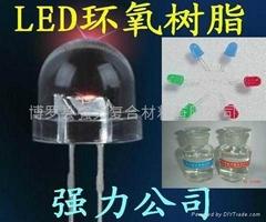 可過紅墨水LED環氧樹脂封裝膠水