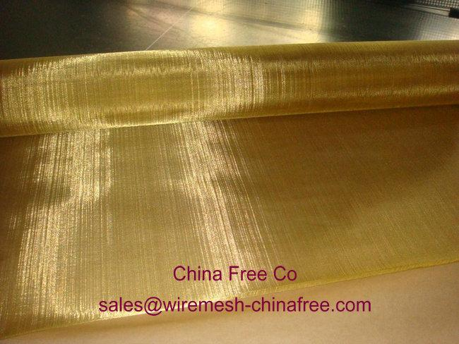 Brass Wire Cloth/brass wire mesh factory 1