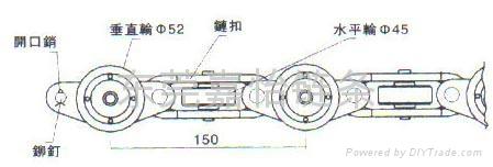 五吨垂直轮重型链条 2