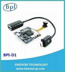 Banana PI BPI-D1 Open Source IP Camera