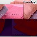 100%全棉锻档活性染色素色毛巾面巾74x33cm 3