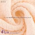 100%全棉豹紋提花活性染色毛巾面巾74x33cm 3