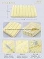 100%全棉提花彩条活性染色毛巾面巾71x33cm 5
