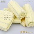 100%全棉提花彩条活性染色毛巾面巾71x33cm 2